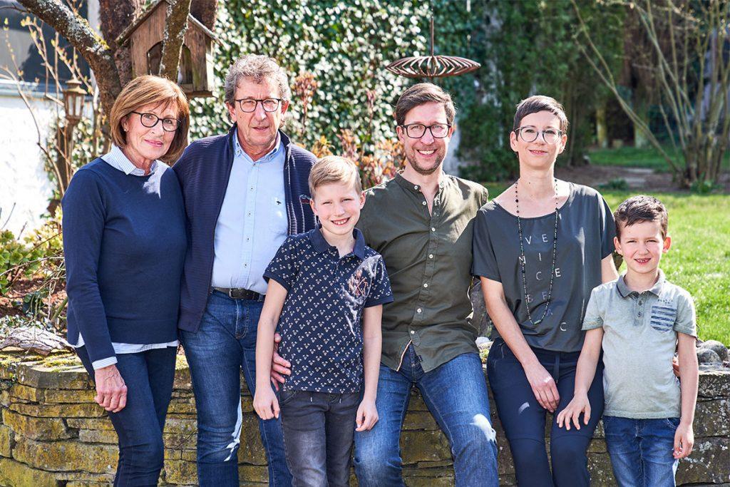 DANIELS Team Familie